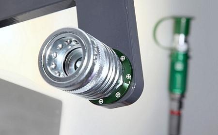 Gemeinsame KENNFIXX ® Griff auch für unter Druck kuppelbare Kupplungen #AU_73