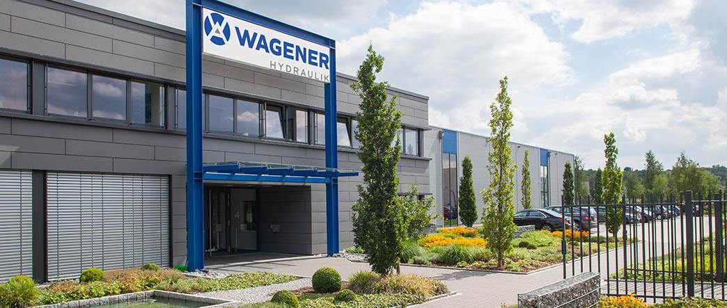 Außenansicht Wagener Hydraulik Firmengebäude in Hattingen